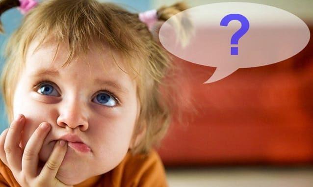 вопрос у ребенка